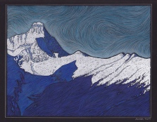 Morning, Mount Nelson - 11x14