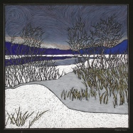 Winter Afternoon, Lake Windermere - 14x14