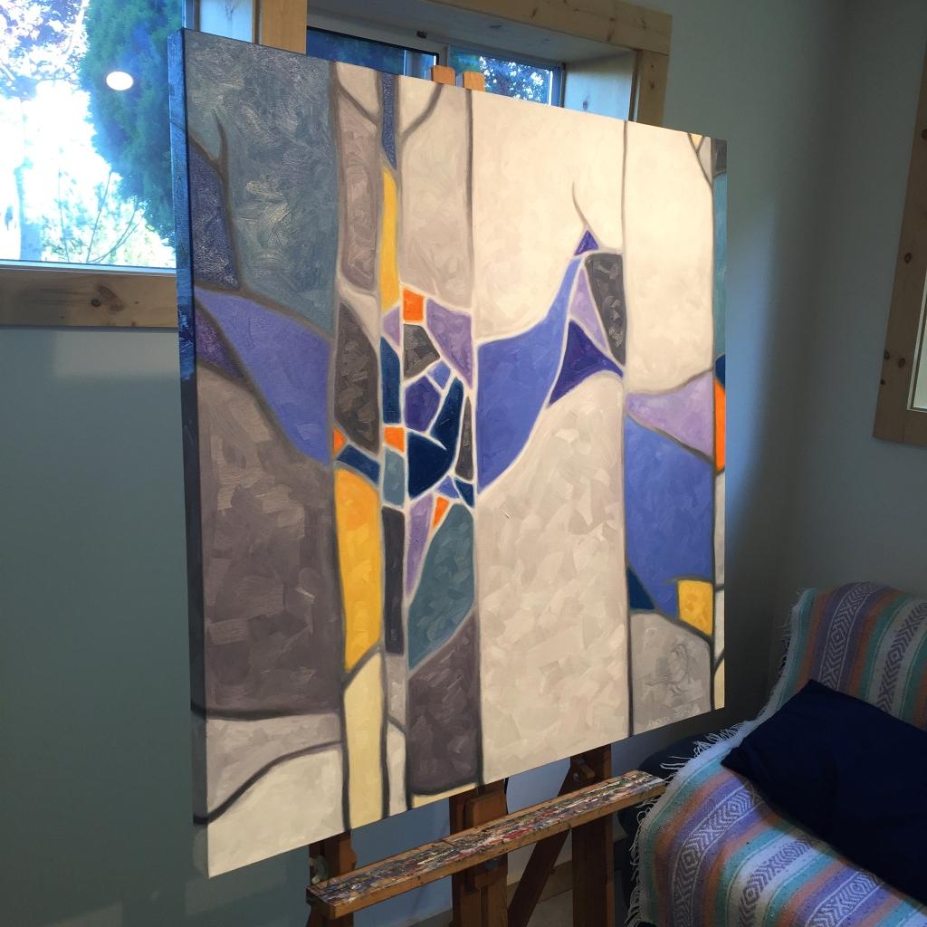 Rainshadow – oil on canvas – 36