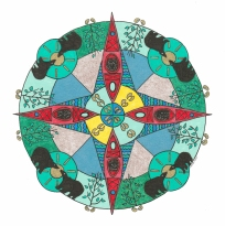 Kayak Mandala (May) - SOLD