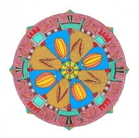 Thunderbirds of Kewa Mandala (October) - $125