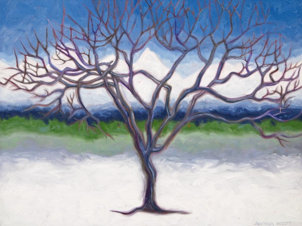 Zen Tree - 18x24