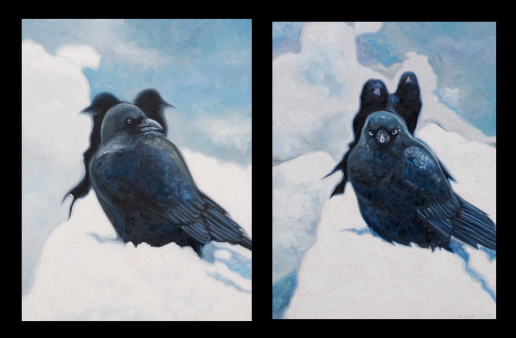snow-crows