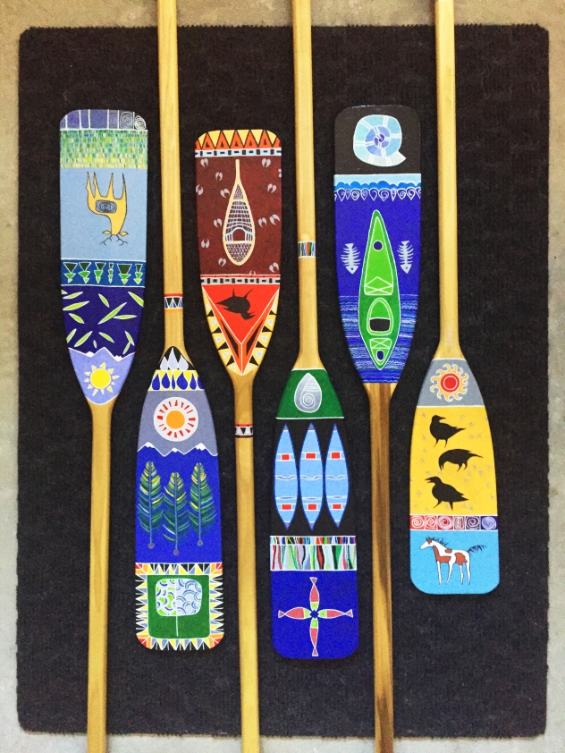 paddle set of 6